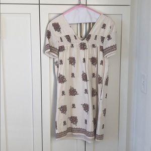 Madewell Cream Shift Dress